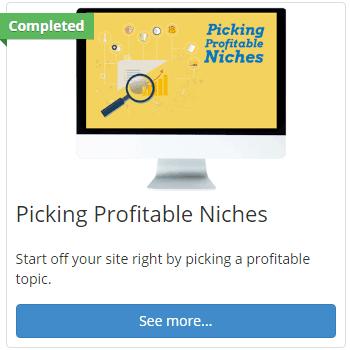 picking niches icon