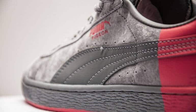 Puma sneaker close up