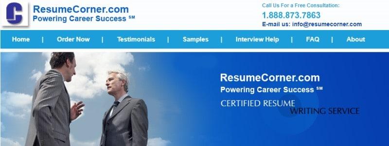 resume corner screenshot