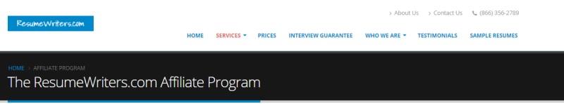 resume writers screenshot