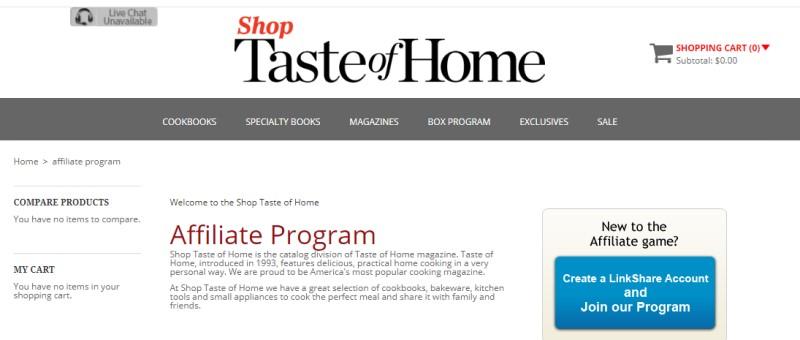 taste of home screenshot