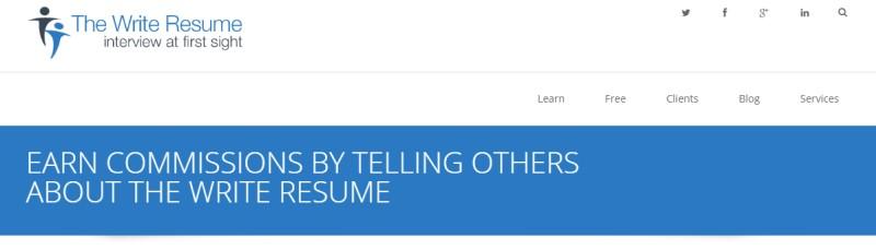 writers resume screenshot