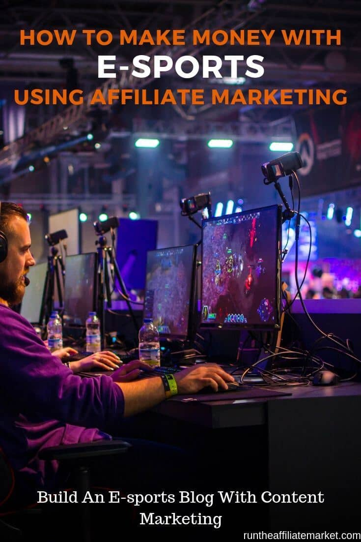 how to make money with e-sports pinterest image