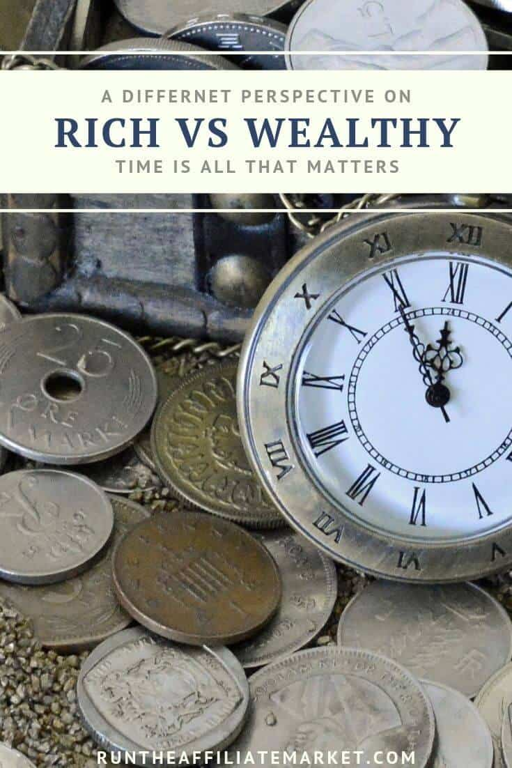 Rich vs Wealthy Pinterest Image