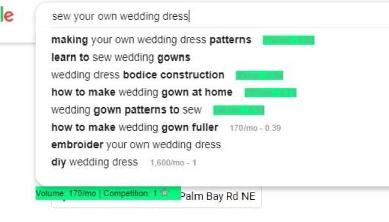 google autocomplete screenshot
