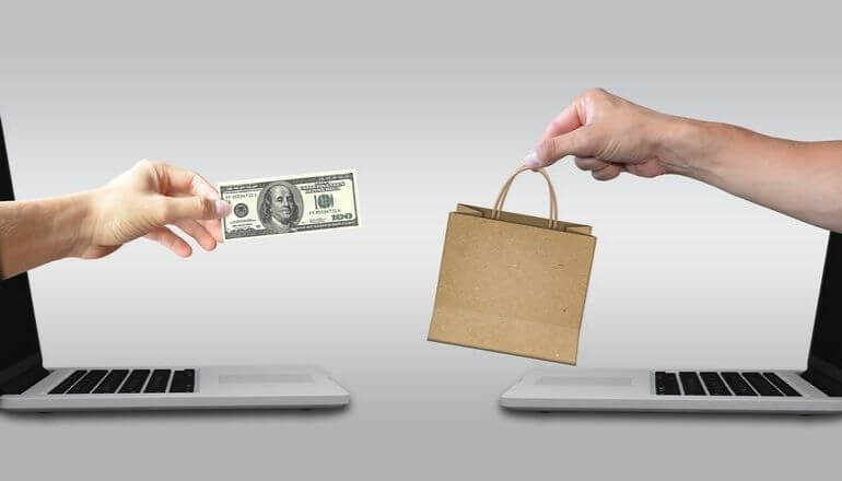 buying items online