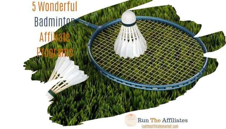 badminton affiliate programs featured image