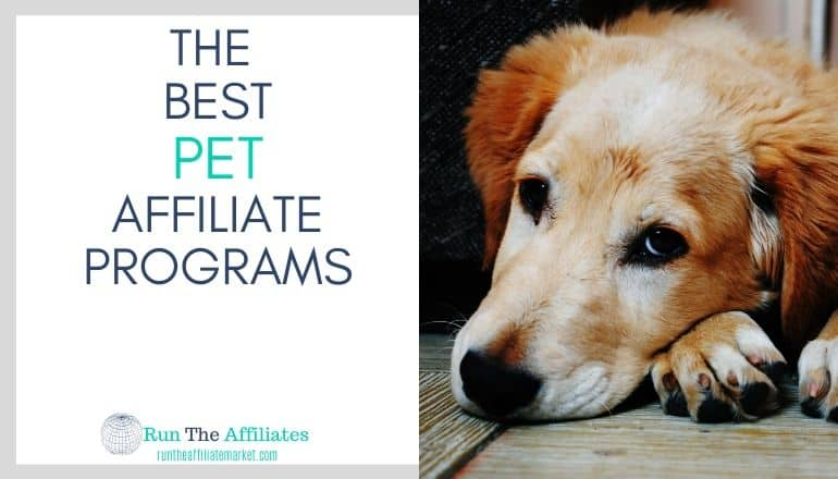 top pet affiliate programs featured image