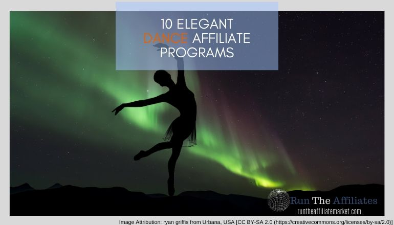 10 Amazing Dance Affiliate Programs