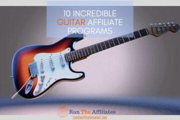 guitar affiliate program featured image