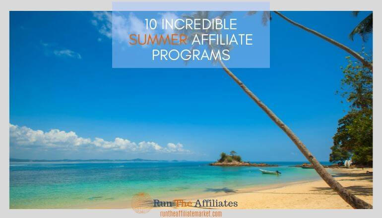 summer affiliate programs featured image