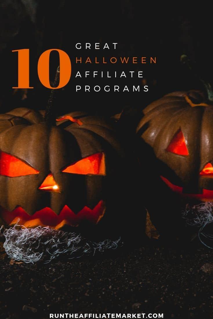 halloween affiliate programs pinterest image