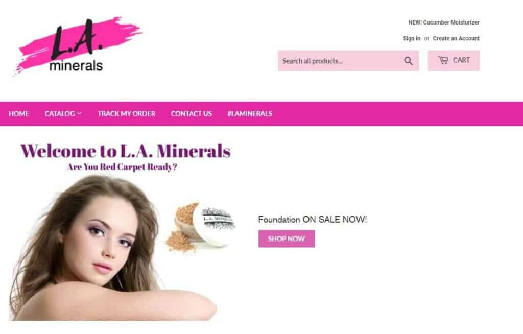 La minerals screenshot