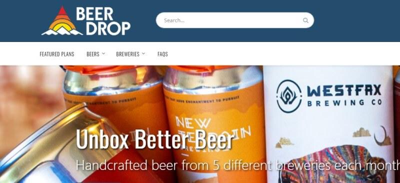 beer drop screenshot