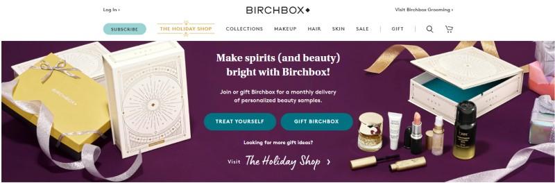birch box affiliate screenshot