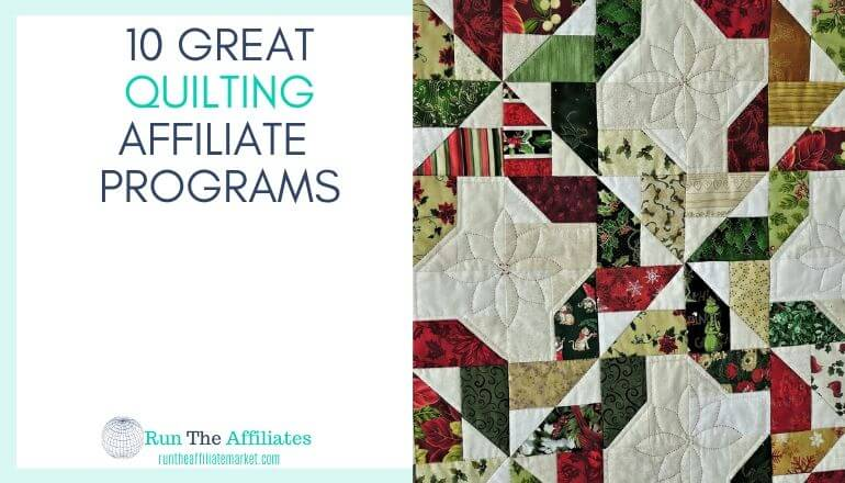 red white and green quilt