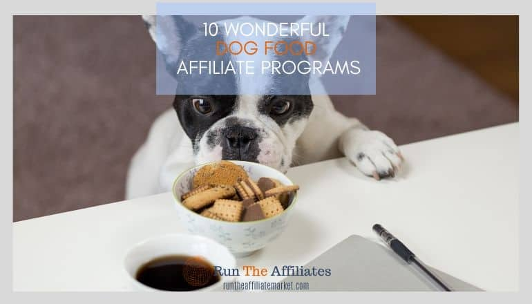 dog food affiliate programs featured image