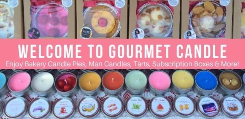 gourmet candle screenshot