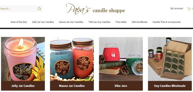 papa candle screenshot