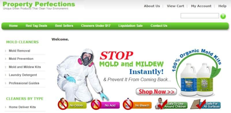 property perfection affiliate program screenshot