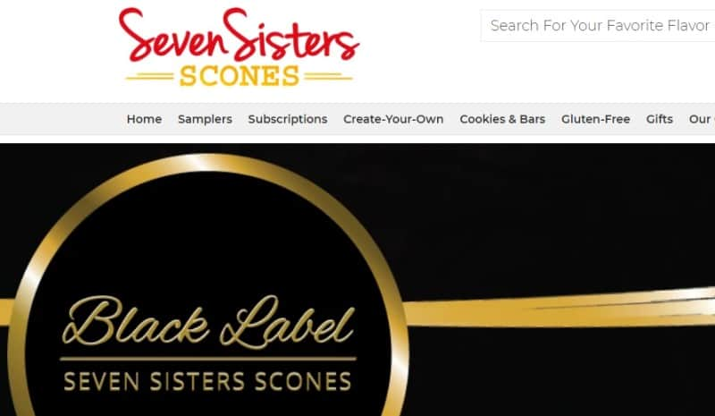seven sisters scones screenshot