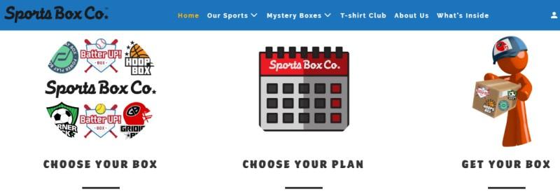 sports box screenshot