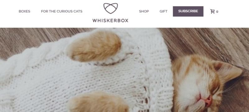 whiskerbox screenshot