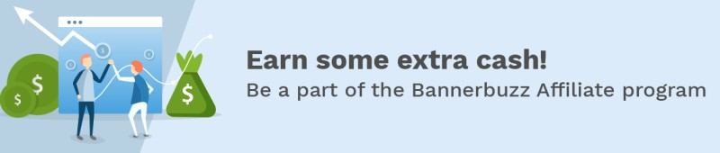bannerbuzz affiliate program screenshot
