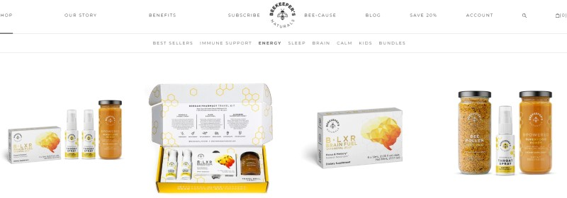 beekeepers naturals products