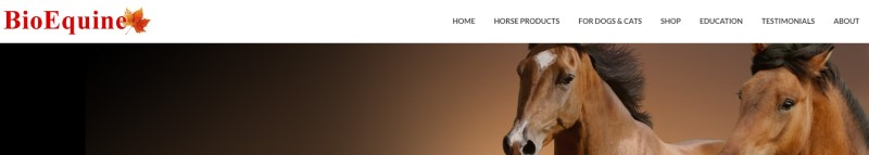 bioequine affiliate screenshot