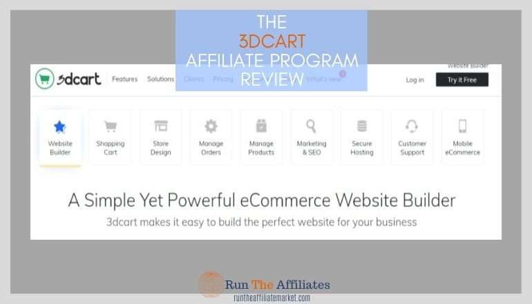 3dcart affiliate program review featured image