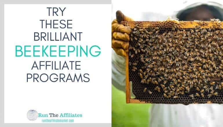 beekeeping affiliate programs featured image