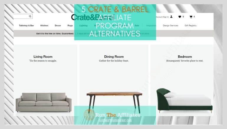 crate & barrel affiliate program featured image