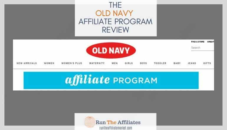 old navy affiliate program review featured image