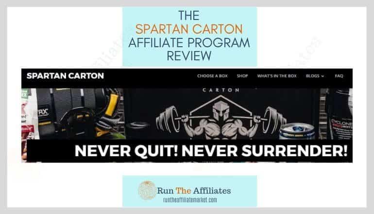 spartan carton affiliate program review