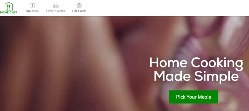 home chef screenshot