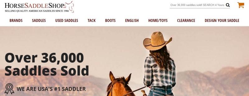 saddle shop screenshot