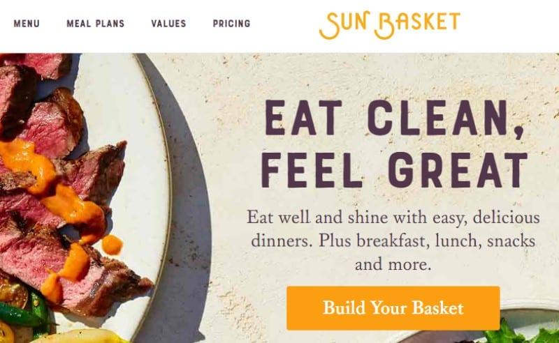 sun basket screenshot