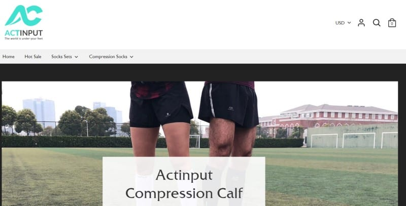 actinput screenshot man and woman standing on an athletic field