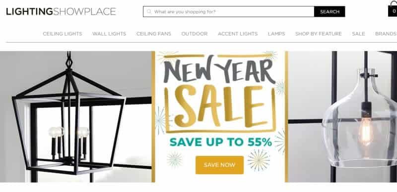 lighting showplace affiliate screenshot