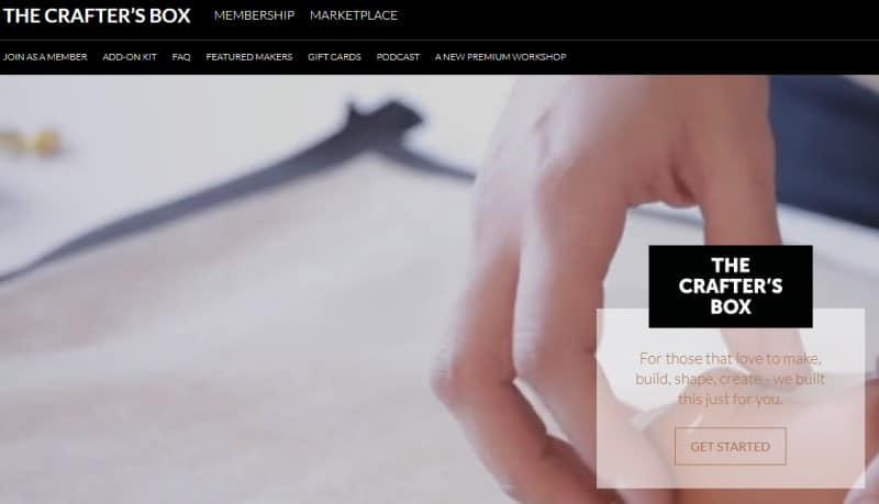 crafters box screenshot