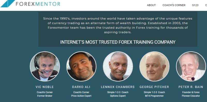 forex mentor screenshot