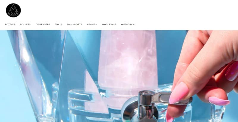 Soji Energy screenshot of their website