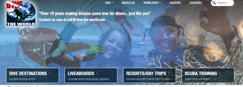 Dive The World screenshot
