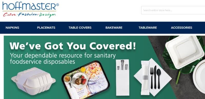screenshot of hoffmaster website