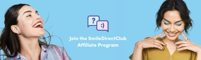 sceenshot of the smile direct club