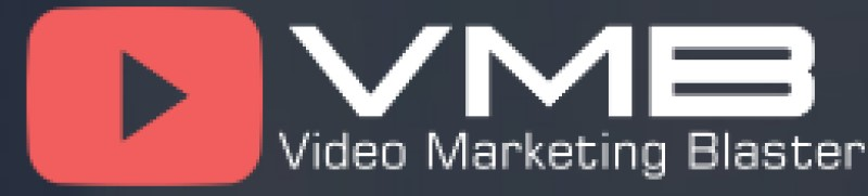 screenshot of video marketing blaster