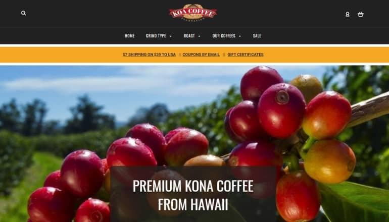 koa coffee screenshot