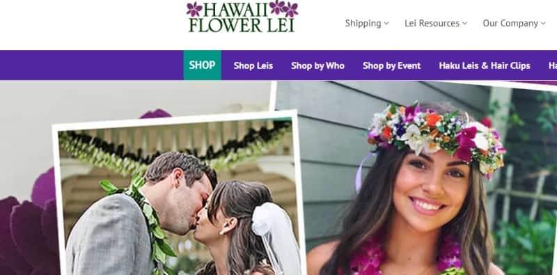 hawaii flower lei screenshot