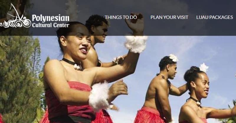 polynesian cultural center screenshot featuring polynesian dancers